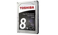 Toshiba X300 - High-Performance Hard Drive 8TB (7200rpm/128MB),BULK