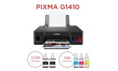 Canon PIXMA G1410 + GI-490 BK