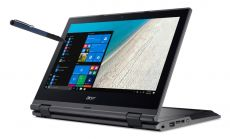 """Acer TravelMate B118, Intel Pentium N4200 Quad-Core (up to 2.56GHz, 2MB), 11.6"""" FullHD (1920x1080) IPS Touch, HD Cam, 8GB 1600MHz DDR3L, 128GB SSD, Intel HD Graphics, 802.11ac, BT 4.0, MS Windows 10S (upgrade to Pro) + Active Pen"""