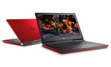 "Dell Inspiron 7577, Intel Core i5-7300HQ Quad-Core (up to 3.50GHz, 6MB), 15.6"" FullHD (1920x1080) IPS Anti-Glare, HD Cam, 8GB 2400MHz DDR4, 256GB SSD, NVIDIA GeForce GTX 1060 6GB GDDR5, 802.11ac, BT 4.2, Backlit Keyboard, Linux, Red"