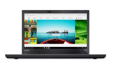 """Lenovo ThinkPad T470 Intel Core i5-7200U (2.5GHz up to 3.1GHz, 3MB), 8GB 2133MHz DDR4, 500GB 7200rpm, 14"""" FHD (1920x1080), AG, IPS, Intel HD Graphics 620, 720p HD Cam, WLAN Ac, BT, FPR, SCR, 3 cell front + 3 cell rear, Win 10 Pro"""