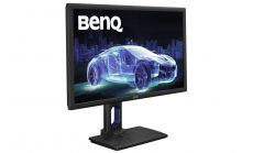 "BenQ PD2700Q, 27"" Wide IPS LED, 4ms GTG, 1000:1, 20M:1 DCR, 350 cd/m2, 2560x1440 WQHD, 100% sRGB, HDMI, DP, Speakers, Height Adjustment, Swivel, Pivot, Black"