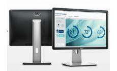 "Dell P2016, 19.5"" Wide LED, IPS Anti-Glare, HD+ 1440x900, 6ms,1000:1, 250 cd/m2, USB, Display Port, Height Adjustable, Pivot, Swivel, Black&Grey"