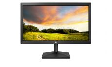 """LG 20MK400A-B, 19.5"""" LED AG, 5ms GTG, 600:1, Mega DFC, 200cd/m2, HD 1366x768, D-Sub, Tilt, Black"""