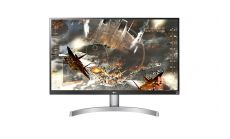 "LG 27UK600-W, 27"" Wide LED, IPS Panel Anti-Glare, sRGB 99%, Cinema Screen, 5ms, 1000:1, Mega DFC, 450 cd/m2, 3840x2160, HDMI, DisplayPort, FreeSync, Headphone out, Tilt, Height (Range), Pivot, Black"