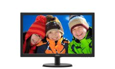 "Philips 223V5LHSB, 21.5"" Wide TN LED, 5 ms, 10M:1 DCR, 250cd/m2, 1920x1080 FullHD, HDMI, Black"