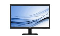 "Philips 240V5QDAB, 23.8"" Wide ADS-IPS LED, 5 ms, 20M:1 DCR, 250 cd/m2, 1920x1080 FullHD, DVI, HDMI, Speakers, Black"