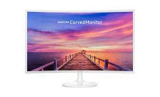 "Samsung C32F391FWU, 31.5"" Curved VA LED, 1800R, 4ms, 1920x1080, DP, HDMI, 250cd/m2, Mega DCR, 178°/178°, White"