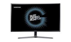 "Samsung C32HG70Q, 31.5"" Curved WQHD LED, Professional GAMING, 1,800R, 144hz, 1ms, Quantum Dot,  2560 X 1440, 2xHDMI, DP, USB , 350cd/m2, 3000:1 , 178°/178°, Dark Blue/Matt Black"