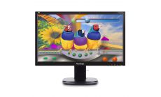 """Viewsonic VG2437SMC 24"""" 16:9 FHD SuperClear MVA Webcam Monitor with VGA, DVI, DipsplayPort, 2 USB, Microphone, Speakers and Full Ergonomic Stand"""
