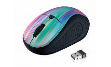 TRUST Primo Wireless Mouse - black rainbow
