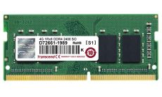 Transcend 4GB JM 260pin SO-DIMM DDR4 2400 1Rx8 512Mx8 CL17 1.2V