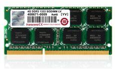 Transcend 4GB JetRam DDR3 SO-DIMM DDR3 PC1333, 1.5V
