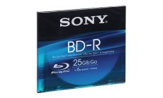 Sony Blu-ray disk, Single layer, 25GB