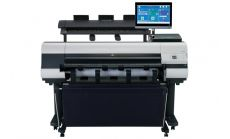Canon imagePROGRAF iPF830 including stand + MFP Scanner M40-AIO for Canon iPF + Free set of starter inks