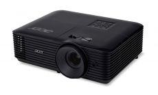 Acer Projector X168H, DLP, WUXGA (1920x1200), 3500 ANSI Lumens, 10000:1, 3D, HDMI, VGA, RCA, Audio in, DC Out (5V/2A, USB-A), Speaker 3W, Bluelight Shield, Sealed Optical Engine, LumiSense, 2.8kg, Black