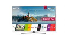 "LG 43UJ701V, 43"" 4K UltraHD TV, 3840x2160, DVB-T2/C/S2, 1900PMI, Smart webOS 3.5, Active HDR, 360 VR, WiDi, WiFi 802.11ac, Bluetooth, Miracast, LAN, CI, HDMI, USB, Digital Recording, Voice Search, Crescent Stand, Magic Remote, harman/kardon, Silver"