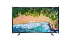 "Samsung 55"" 55NU7372 CURVED 4K UHD LED TV, SMART, HDR, 1400 PQI, Mirroring, DLNA, DVB-T2CS2, WI-FI, 3xHDMI, 2xUSB"