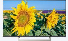 "Sony KD-55XF8096 55"" 4K HDR TV BRAVIA Triluminos, Edge LED with Frame dimming, Processor 4K X-Reality PRO, Android TV 7.0, XR 400Hz, DVB-C / DVB-T/T2 / DVB-S/S2, Voice Remote, USB, Black"