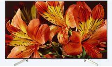 "Sony KD-55XF8596 55"" 4K HDR TV BRAVIA Triluminos, Edge LED with Frame dimming, Processor X1, Android TV 7.0, XR 1000Hz, DVB-C / DVB-T/T2 / DVB-S/S2, Voice Remote, USB, Black"