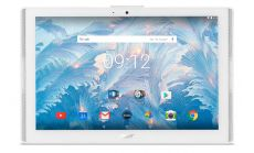 """Acer Iconia B3-A40, 10.1"""" HD IPS (1280x800), MTK MT8167 Quad-Core Cortex A35 (1.30 GHz), 2GB DDR3L, 32GB eMMC, 5MP&2MP Cam, Speakers, 802.11n, BT 4.1, GPS, Android 7.0 Nougat, White"""