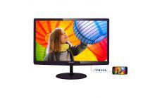 "Philips 23.6"" LED monitor 1920x1080 FullHD 16:9 2ms Smart Response 250cd/m2 20 000 000:1, VGA/DVI-D/MHL-HDMI, Speakers"