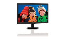 "Philips 27"" Slim LED 1920x1080 FullHD 16:9 5ms 300cd/m2 10 000 000:1 VGA, HDMI, TCO, Black"