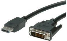 ROLINE 11.99.5610 :: VALUE кабел, DisplayPort M - DVI M, 2.0 м