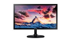 """Monitor Samsung S22F350F 21.5"""" LED, Full HD (1920x1080), Brightness: 200cd/m2, Contrast: 1000:1, Response time: 5ms, Viewing Angle: 170°/160° , D-SUB, HDMI, Glossy Black (+ HDMI Cable)"""