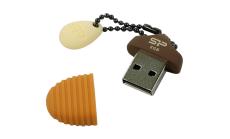 SILICON POWER (USB Flash Drive)UFD 2.0,Touch T30,8GB,Hazelnut
