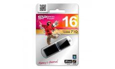 USB памет SILICON POWER LuxMini 710 Black 16GB, USB 2.0