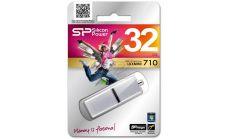 USB памет SILICON POWER LuxMini 710 Silver 32GB, USB 2.0