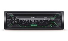 Sony DSX-A212UI In-car Media Receiver with USB, Green illumination