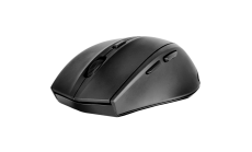 Speedlink CALADO Silent & Antibacterial Mouse - Wireless USB, 5 -button, range of up to 8m, 1,600dpi optical sensor, ergonomic , rubber, black