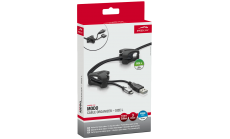 Speedlink MODO Cable Organizer - Size L, 3 clips for peripheral cables, black