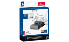 Speedlink JAZZ USB Charger - for PS4, Charge via the console or any USB port, Simultaneously charge up to two DUALSHOCK®4 controllers, LED status indicators,black