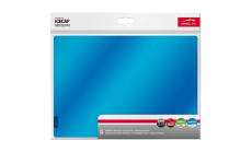 Speedlink ICECAP Mousepad with reflective metal layer, Large format, Anti-static,29cm long, 21cm wide, 0.15cm thick, blue