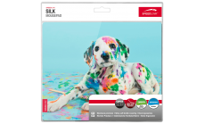 Speedlink SILK Mousepad, Anti-static, Non-slip backing, 23cm long x 19cm wide x 0.15cm thick, Puppy