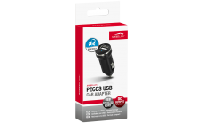 Speedlink PECOS USB Power Adapter 2.1A - Car, 5V output (up to 2,100mA), micro format , black