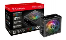 Захранващ блок Thermaltake Smart RGB 500W PS-SPR-0500NH SAWE-1