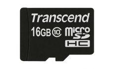 Памет Transcend 16GB microSDXC/SDHC Class 10 (Premium) (No Box & Adapter)