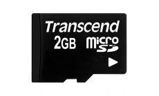 Памет Transcend 2GB micro SD (NoBox & Adapter)