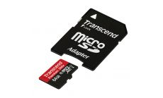 Памет Transcend 64GB MicroSDXC Class10 U1 with adapter, read-write: up to 60MBs, 45MB/s 400x