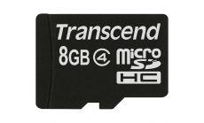 Памет Transcend 8GB microSDHC Class 4 (Standard (NoBox & Adapter)