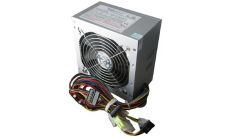ADK-A600W Power Supply TrendSonic AC 115/230V, 47/63Hz, DC 3.3/5/12V, 600W, OEM, 20+4 pin, 3 x SATA, 2 x IDE, Cable Length: 450mm, power cable 1.2M incl., 1x120, Efficiency 65%