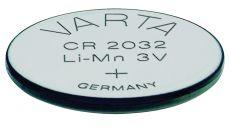 Бутонна батерия литиева CR 2032 3V  VARTA