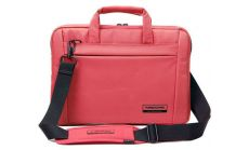 "Kingsons Laptop Bag 13.3"" KS6195W-P :: Chisel Series - Pink"