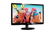 "Monitor LCD PHILIPS 196V4LSB2/00 (18.5"", 1366x768, LED Backlight, 600:1, 10000000:1(DCR), 170/160, 5ms, DVI/VGA) Black"