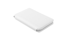 "Universal case with zip closure and stand suitable for most 7"" tablets (Color: White)"