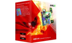 AMD CPU A4-Series X2 4020 (3.4GHz,1MB,65W,FM2) box, Radeon TM HD 7480D